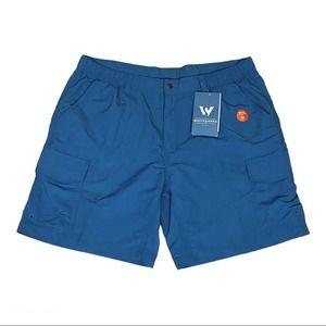 White Sierra Rocky Ridge II Shorts Dark Blue UPF30
